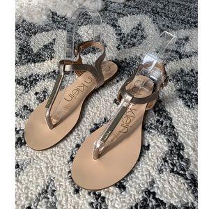 Calvin Klein Samira Thong Sandals 6